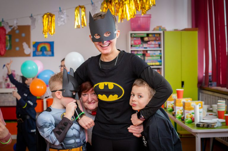 karnawał szkolny Batman